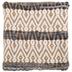 Jute & Denim Woven Pillow Cover