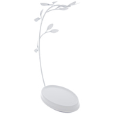 White Branch Metal Jewelry Holder