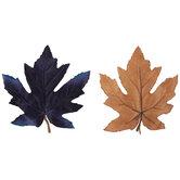 Blue & Brown Leaves