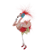 Singing Flamingo Ornament