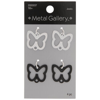White & Black Butterfly Connectors