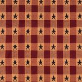 Plaid Star Jacquard Cotton Calico Fabric