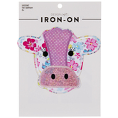 Patchwork Cow Iron-On Applique