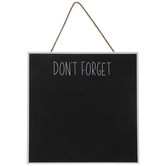 Don't Forget Chalkboard Wood Wall Decor