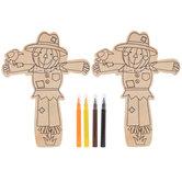 Scarecrow Wood Craft Kit