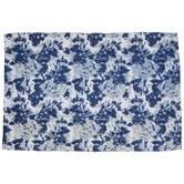 Blue Floral Rug