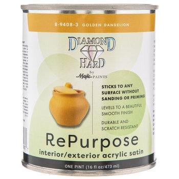 Golden Dandelion Repurpose Acrylic Satin Paint