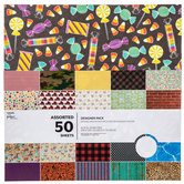 Assorted Designer Paper Pack