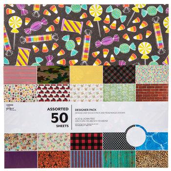 Assorted Designer Paper Pack
