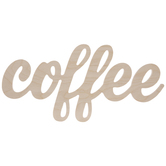 Coffee Wood Cutout