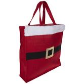 Santa Claus Belt Tote Bag