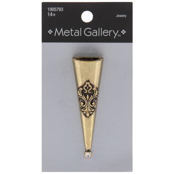 Damask Vase Magnetic Brooch