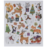 Christmas Animals Stickers