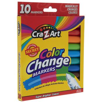 Cra-Z-Art Color Change Markers - 10 Piece Set