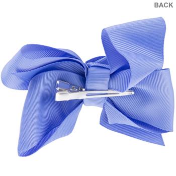 Wisteria Grosgrain Bow Hair Clip