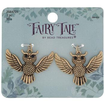 Flying Horned Owl Charms