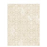 """Cream & Gold Ornate Scrapbook Paper - 8 1/2"""" x 11"""""""
