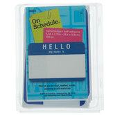 Blue Hello Name Badges