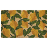 Lemon & Leaves Doormat