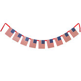 American Flags Banner