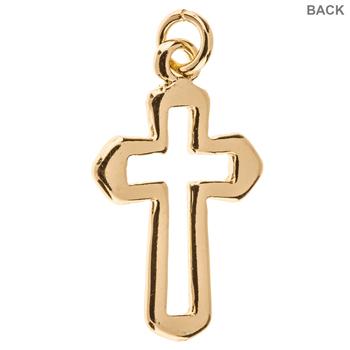 Open Cross Charm