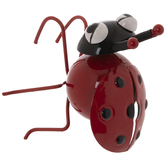Ladybug Metal Pot Percher