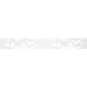 """White Lace Ribbon - 7/8"""""""