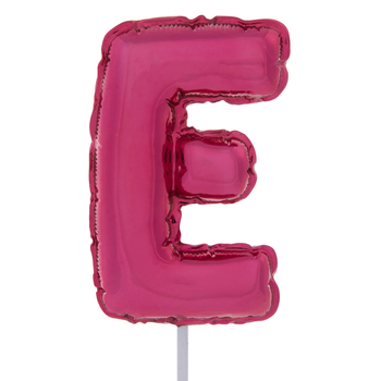 Letter Balloon Garden Pick - E