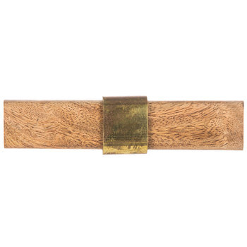 Natural Wood Rectangle Knob