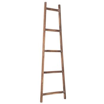 Weathered Decorative Wood Ladder