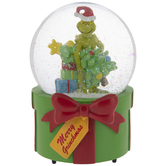 Merry Grinchmas Snow Globe