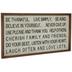 Be Thankful Wood Wall Decor