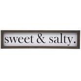 Sweet & Salty Wood Wall Decor