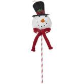 Snowman Head Pick