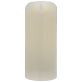 Cream LED Pillar Candle