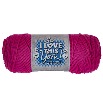 Hot Rose I Love This Yarn