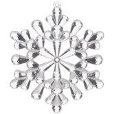 Crystal Snowflake Ornament