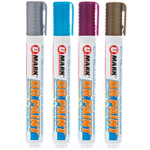 Metallic Dr. Paint Reversible Tip Paint Markers - 4 Piece Set