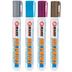 Metallic Dr. Paint Reversible Tip Paint Markers - 4 Piece Set