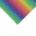 Bright Rainbow Striped Felt Sheet
