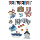 Cruise 3D Stickers