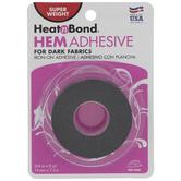 Dark Super Weight Iron-On Hem Adhesive