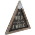 Go Wild For A While Wood Wall Decor