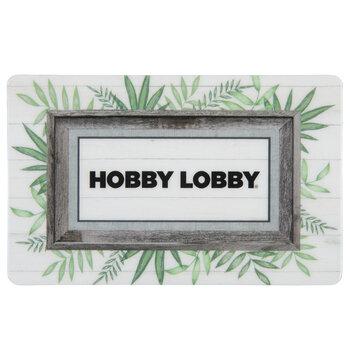 Frame Gift Card