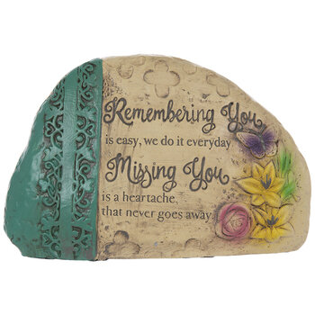 Remembering You Garden Stone