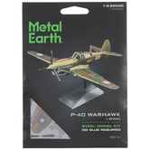P-40 Warhawk Metal Earth 3D Model Kit