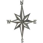 Nautical Star Metal Wall Decor