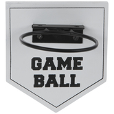 Baseball Holder Wood Wall Decor