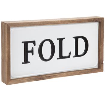 Fold Metal Wall Decor