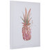 Pink Pineapple Canvas Wall Decor